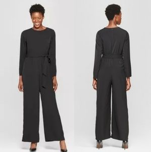 Who What Wear Long Sleeve Crew Neck Jumpsuit